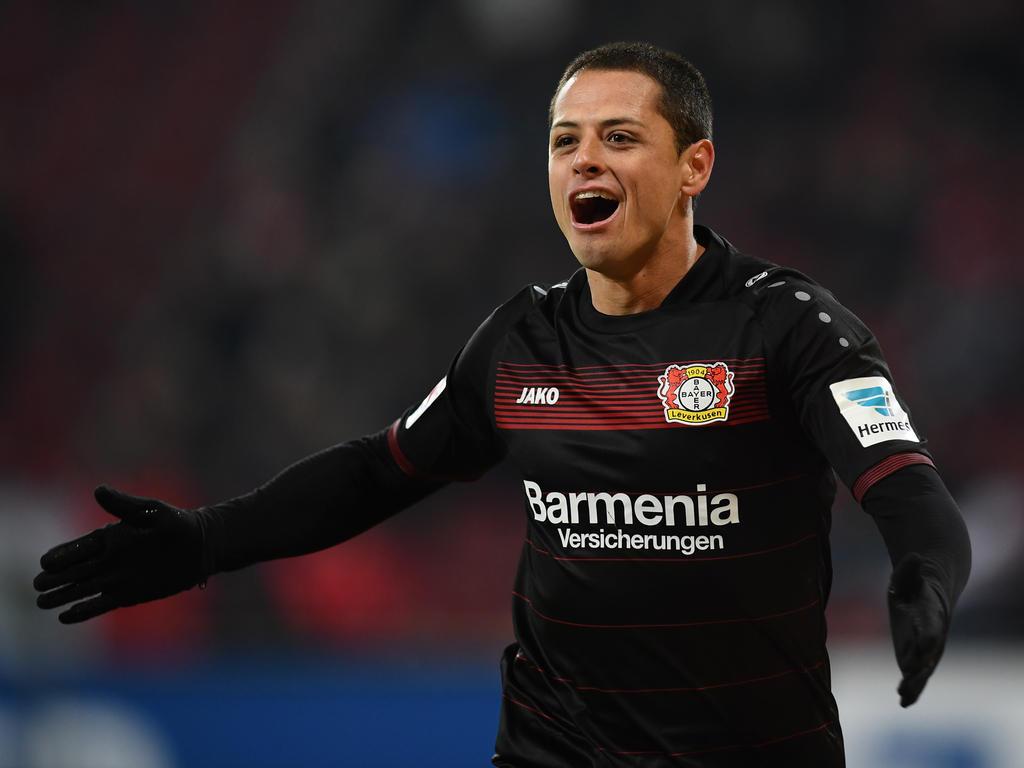 Leverkusens Chicharito vor Wechsel in die Premier League