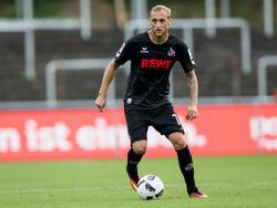 Nach langwieriger Kreuzband-Verletzung kehrt Marcel Risse in die Kölner Mannschaft zurück