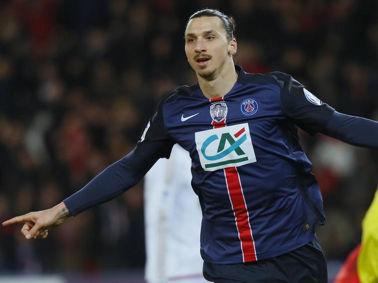 Ibrahimovic marcó ayer su gol número 27 en 32 partidos esta temporada. (Foto: Imago)