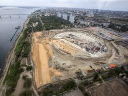 """Beim Bau der """"Wolgograd-Arena"""" gab es bereits drei Unfälle innerhalb der letzten fünf Monate"""