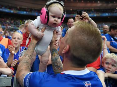 Die Sprösslinge der Island-Teamspieler waren in Frankreich schon mit dabei. Für neuen Fußballnachwuchs scheint ebenfalls gesorgt
