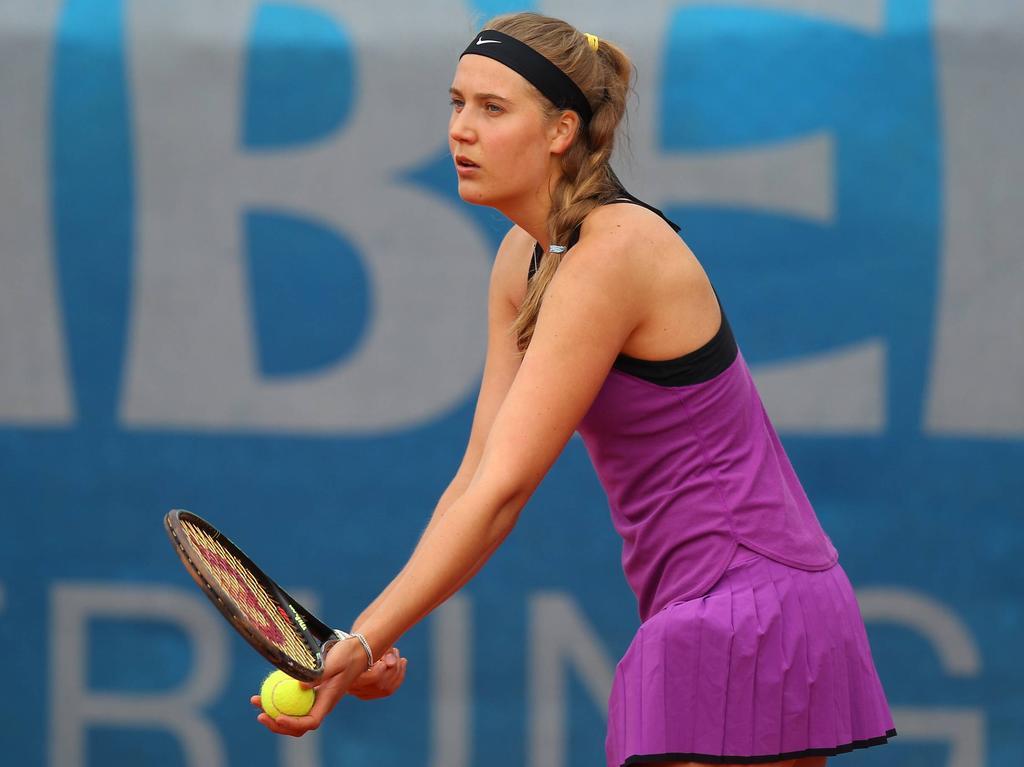 Antonia Lottner ist erstmals bei einem Grand-Slam dabei