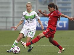 Lara Dickenmann hat in Wolfsburg bis 2019 unterschrieben