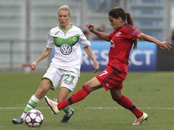 Lara Dickenmann traf beim Sieg der VfL-Damen