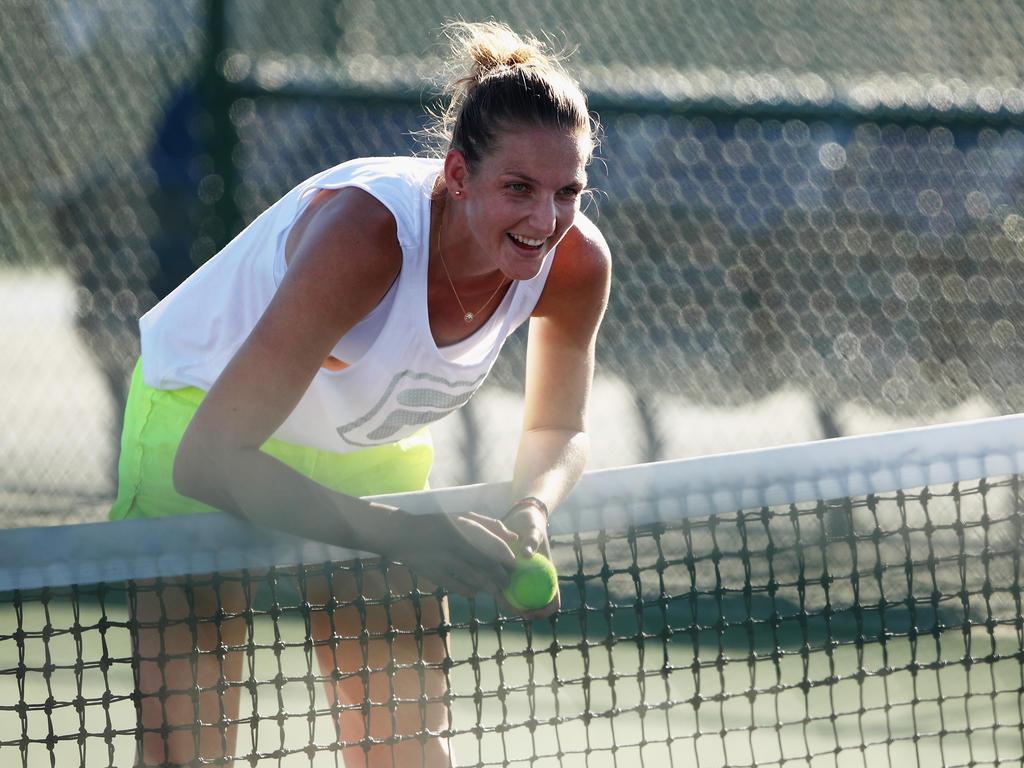 Platz 1 (-): Karolina Pliskova - 6855 Punkte