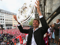Thomas Müller will noch mindestens drei Meisterschalen holen