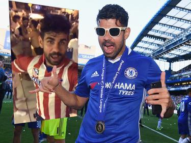 Diego Costa hat mit einem Live-Video auf Instagram für Aufsehen gesorgt