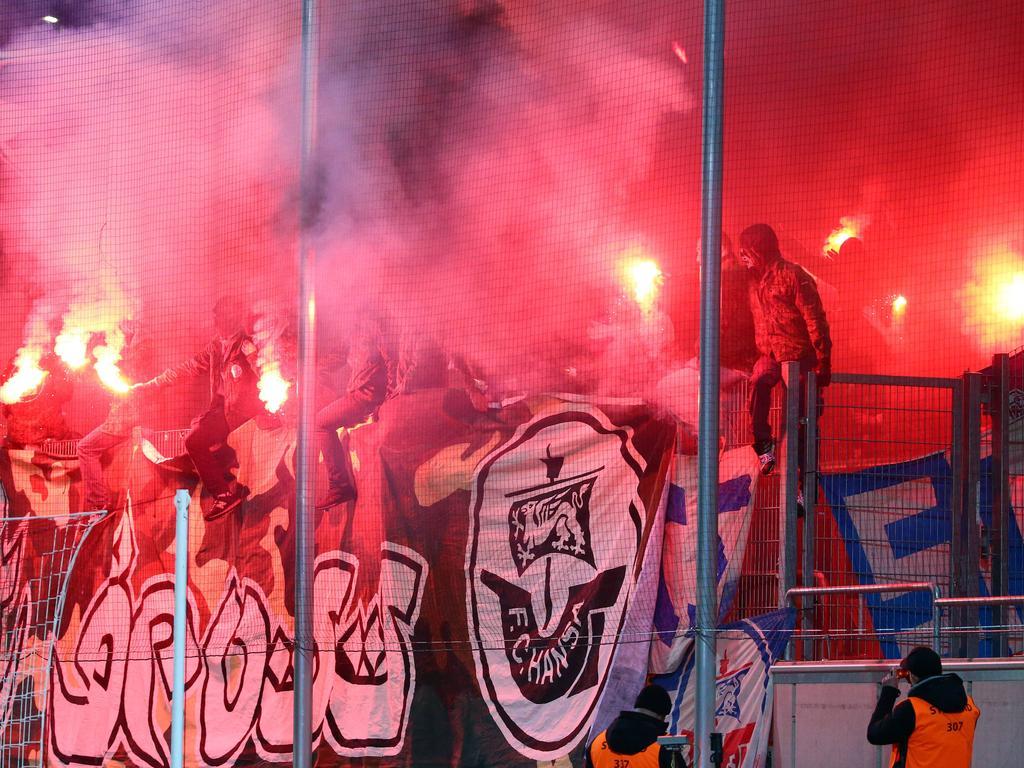 Drittligist Hansa Rostock musste 16 Mal (!) Strafen an den DFB entrichten
