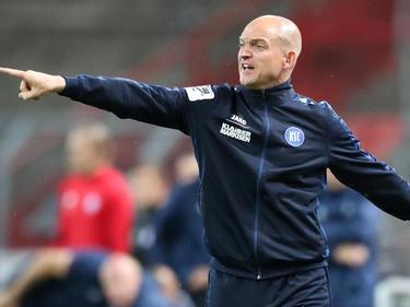 Der KSC hat seinen Cheftrainer Marc-Patrick Meister entlassen