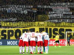 In der letzten Saison verliehen die BVB-Ultras ihrem Unmut über RB deutlich Ausdruck
