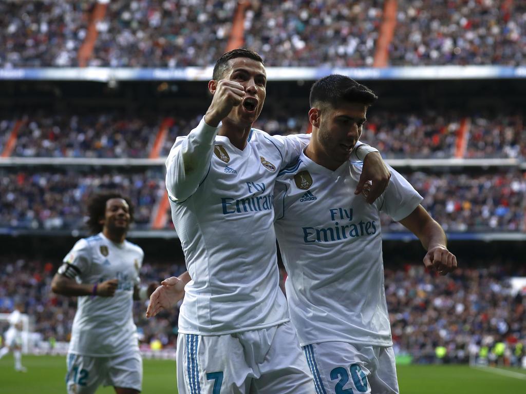 Ronaldo-Doppelpack bei 5:0-Sieg von Real Madrid