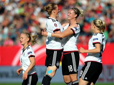 Die deutschen Frauen wollen auch in Rio jubeln