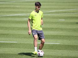 Julian Weigl im Training der Nationalmannschaft