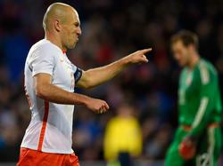 Arjen Robben ist der Hoffnungsträger der Niederlande