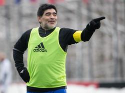 Diego Maradona en una imagen reciente de este mes. (Foto: Getty)