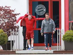Andreas Schlumberger (r.) ist heiß begehrt beim FC Liverpool
