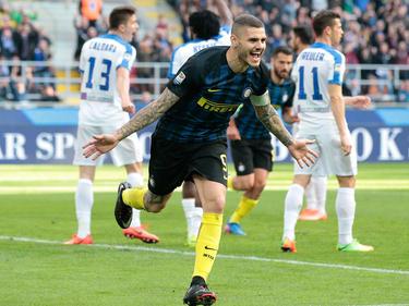 Mauro Icardi traf gegen Bergamo dreifach