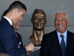 Die erste Ronaldo-Skulptur hatte im Internet für Hohn und Spott gesorgt