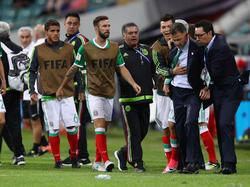 Nicht zu beruhigen: Juan Carlos Osorio im Spiel gegen Neuseeland