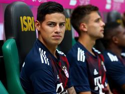 James Rodríguez wechselte von Real Madrid zum FC Bayern München