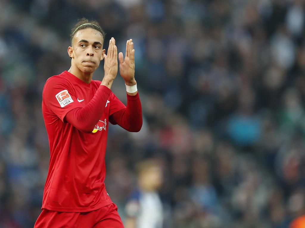 Yussuf Poulsen verlängerte bei RB Leipzig