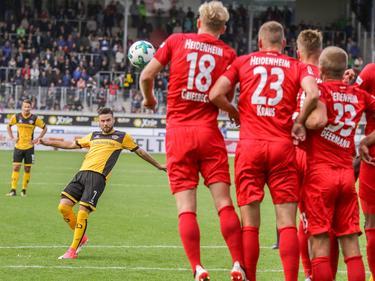 Niklas Kreuzer trifft sehenswert zum zwischenzeitlichen 1:0