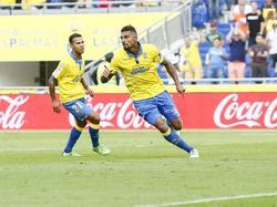 Kevin-Prince Boateng steht mit Las Palmas an der Tabellenspitze
