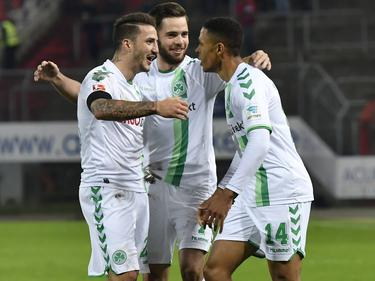 Greuther führt entführt drei Punkte aus Karlsruhe