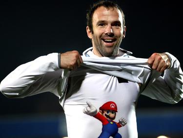 """""""Super Mario"""" Haas - hier noch als Spieler"""