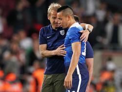 Bobby Wood hat Jürgen Klinsmann in den höchsten Tönen gelobt