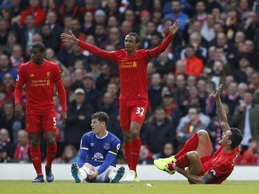 Imagen del derbi entre Liverpool y Everton. (Foto: Imago)