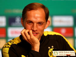 Thomas Tuchel geht gelassen in das Pokalfinale gegen Frankfurt