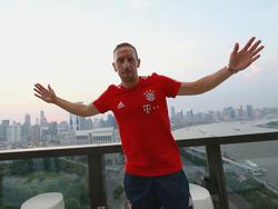 Franck Ribéry hat sich längst den Status als Bayern-Legende erarbeitet