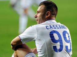 Antonio Cassano hat seinen endültigen Rücktritt vom Profi-Fußball erklärt