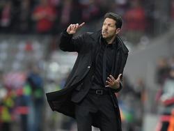 Diego Simeone musste eine weitere Niederlage im CL-Finale hinnehmen