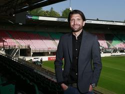 Peter Hyballa is als hoofdtrainer de opvolger van Ernest Faber bij NEC Nijmegen. (13-05-2016)