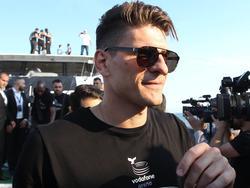 Der AC Florenz sucht nach einem Abnehmer für Mario Gomez