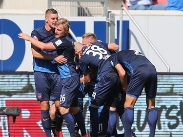 Heidenheim feierte gegen Aue einen Start nach Maß