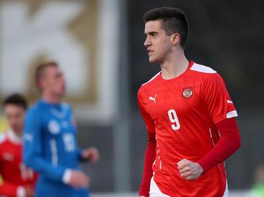 Arnel Jakupović war zweifacher Torschütze für das ÖFB-U19-Team