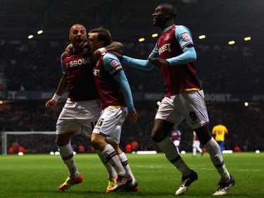 Faubert (izq.) celebrando un gol con el West Ham. (Foto: Getty)
