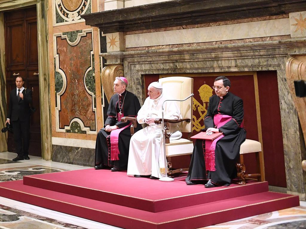 Der Papst äußerte sich im Vorfeld des Super Bowls