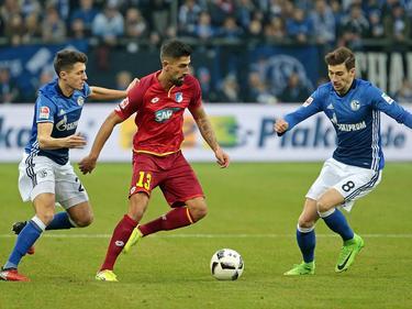 El empate no ayuda ni al Hoffenheim ni al Schalke. (Foto: Getty)