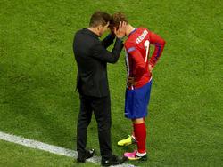 Diego Simeone und Antoine Griezmann sind ein erfolgreiches Duo in Madrid