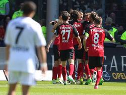 Freiburg jubelt - Leverkusen steckt mitten im Abstiegskampf