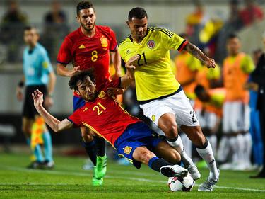 Spanien rettet sich zu einem 2:2-Unentschieden gegen Kolumbien