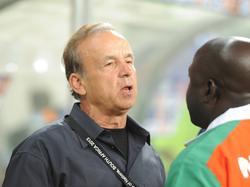 Gernot Rohr ist nicht mehr Nationaltrainer von Burkina Fasos