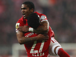 Douglas Costa erzielte das goldene Tor der Bayern