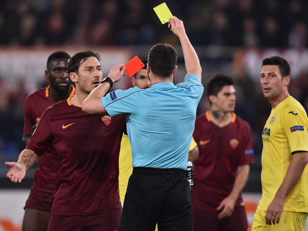 Gelb-Rot für Rüdiger bei Roms Achtelfinaleinzug