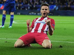 Saúl marcó el gol que vale unas semifinales para el Atlético. (Foto: Getty)