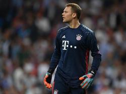Manuel Neuer könnte gegen Bayer Leverkusen sein Comeback feiern